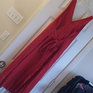Who What Wear red dress